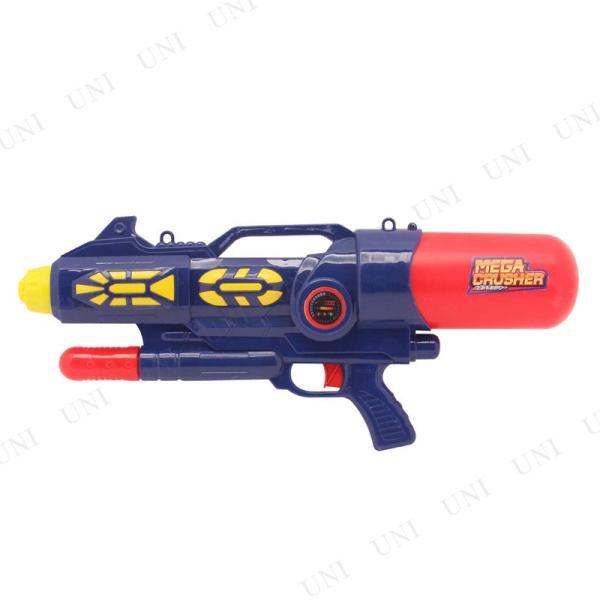 水鉄砲 エアメガクラッシャー プール 大型 水遊び おもちゃ ピストル 水鉄砲 強力 玩具 オモチャ プール用品|party-honpo|02