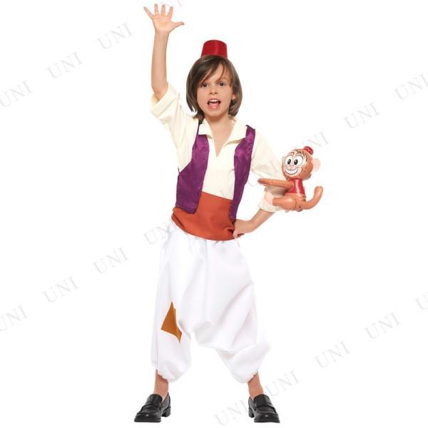 子ども用アラジンM ハロウィン 仮装 衣装 コスプレ コスチューム キッズ こども パーティーグッズ ディズニー|party-honpo|02