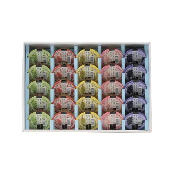 メーカ直送品・代引き不可 アルプス 信州フルーツゼリー詰合せ (80g×25個) TZ-30ギフト 人気 贈り物 割引不可