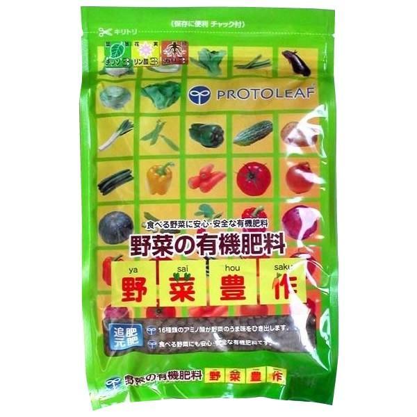 メーカ直送品・代引き不可 プロトリーフ 園芸用品 野菜の有機肥料 野菜豊作 2kg×10袋 割引不可