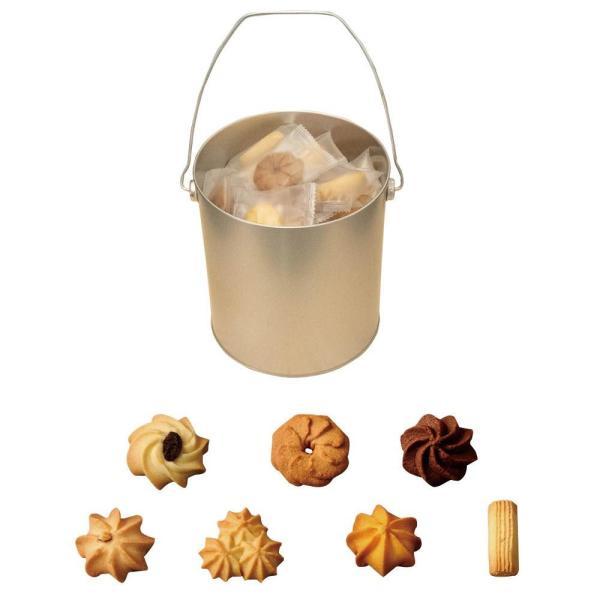 メーカ直送品・代引き不可 バケツ缶アラモード(クッキー) 56枚入り 個包装 割引不可