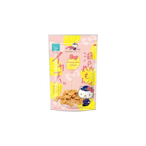 メーカ直送品・代引き不可 まるか食品 キティイカ天瀬戸内れもん味 100g(10×4) 割引不可