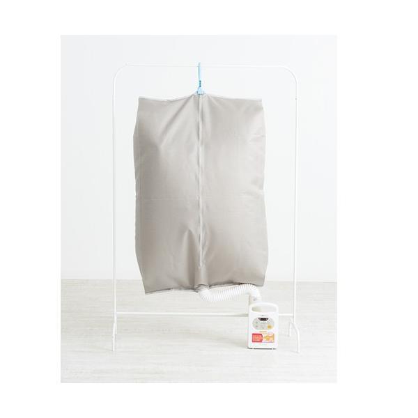 メーカー直送 衣類乾燥袋 ホース無しタイプ布団乾燥機にも対応 救急! 68×26×120cm