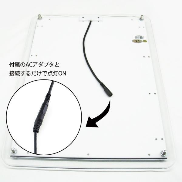 LEDパネル バックライト A3 白色LED点灯 送料無料|pascalstore|07