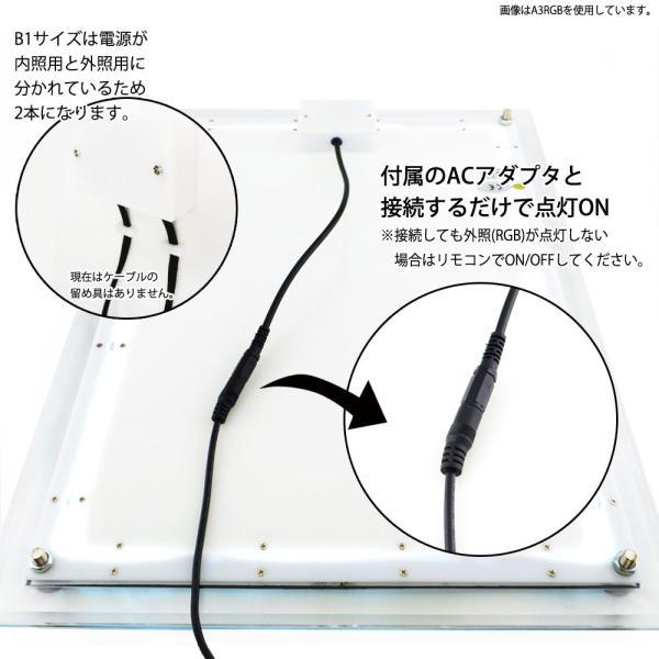 LEDパネル RGB A3 店舗ディスプレイ 送料無料|pascalstore|06