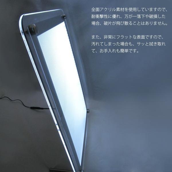 LEDパネル バックライト A3 ハーフ 白色LED点灯 送料無料|pascalstore|10