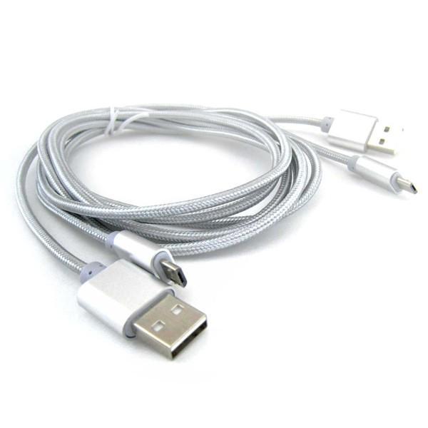 Micro USB 充電 通信 ケーブル 2m 0.3m 2本セット スマートフォン タブレット iQOS|pascalstore|02