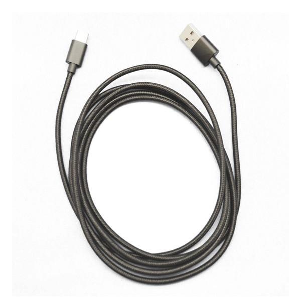 USB Type-C 充電 通信 ケーブル 2m 0.3m 2本セット スマートフォン スマホ タブレット|pascalstore|03