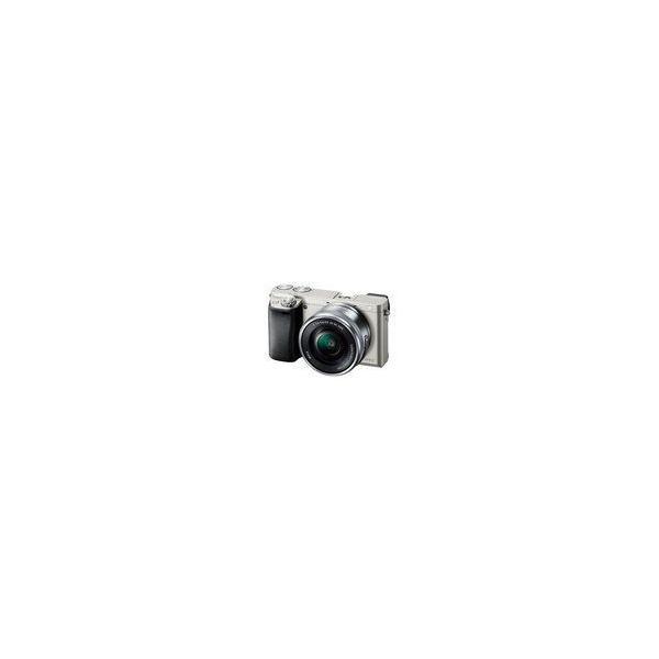 SONY デジタル一眼カメラ α6000 パワーズームレンズキット キットレンズ:E PZ 16-50mm F3.5-5.6 OSS シルバー ILCE-6000L/S ILCE-6000L/S