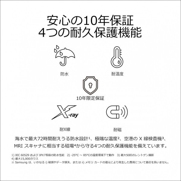 Samsung microSDXCカード 64GB EVO Plus Class10 UHS-I U3対応 (最大読出速度100MB/s:最大書込速度60MB/s) Nintendo Switch 動作確認済 MB-MC64GA/ECO 送料無料|pasokon|05