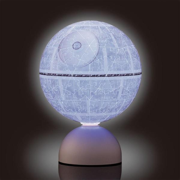 STAR WARS デス・スター スターウォーズ Death Star 光る球体パズル スターライトパズル 球体パズル 240ピース 送料無料|pasokon|02