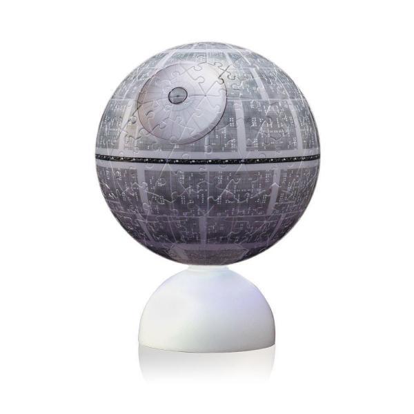 STAR WARS デス・スター スターウォーズ Death Star 光る球体パズル スターライトパズル 球体パズル 240ピース 送料無料|pasokon|03