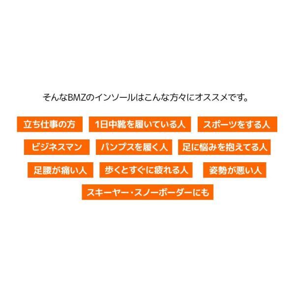 BMZ インソール CCLP カルパワー スマートサポート α イエロー NEEZ BMG 中敷き|passo|09