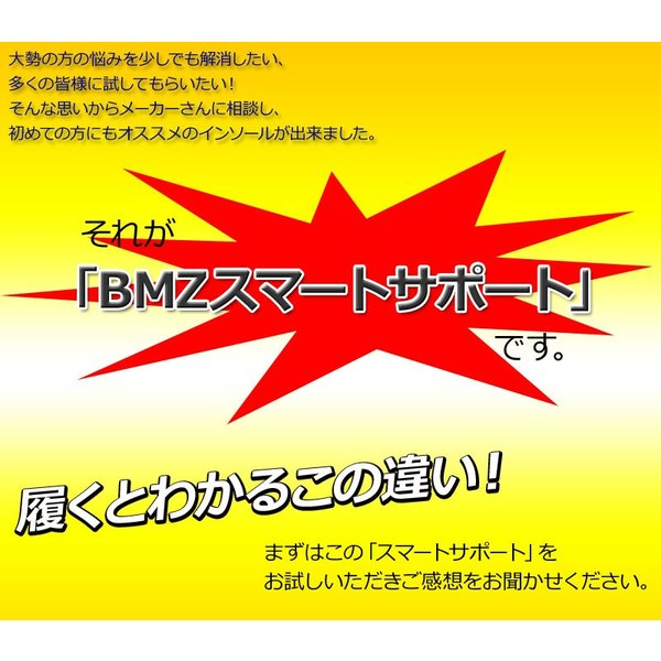 BMZ インソール CCLP カルパワー スマートサポート α イエロー NEEZ BMG 中敷き|passo|10