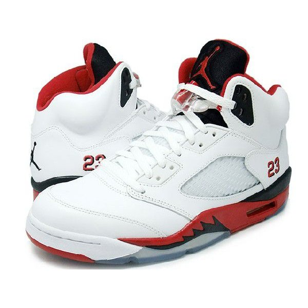 NIKE AIR JORDAN 5 RETRO FIRE RED BLACK TONGUE WHITE/FIRE RED-BLACK ナイキ エア ジョーダン 5 レトロ 白赤黒 黒ベロ 136027-120|passover|02