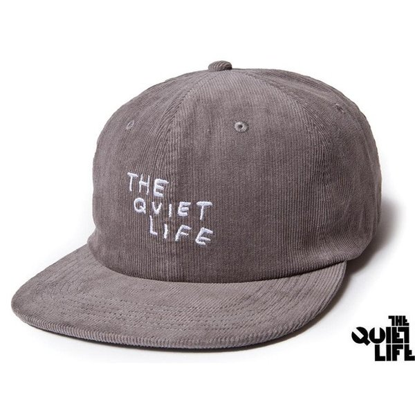 2017 HOLIDAY COLLECTION THE QUIET LIFE x NATHAN BELL NATHAN SCRATCH RELAXED SNAPBACK GREY クワイエットライフ ネイサン スクラッチ 17HOL-4112|passover