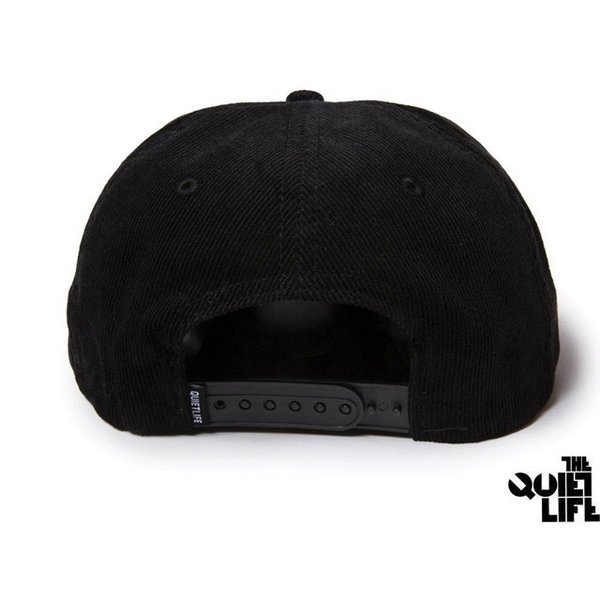 THE QUIET LIFE x NATHAN BELL NATHAN SCRATCH RELAXED SNAPBACK BLACK クワイエットライフ ネイサン スクラッチ 17HOL-4113|passover|02