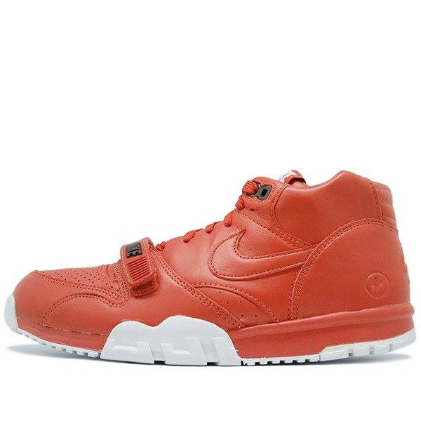 new product a1649 0b0ec NIKE x FRAGMENT DESIGN AIR TRAINER 1 MID SP FRAGMENT GYM RED WHITE ナイキ ...
