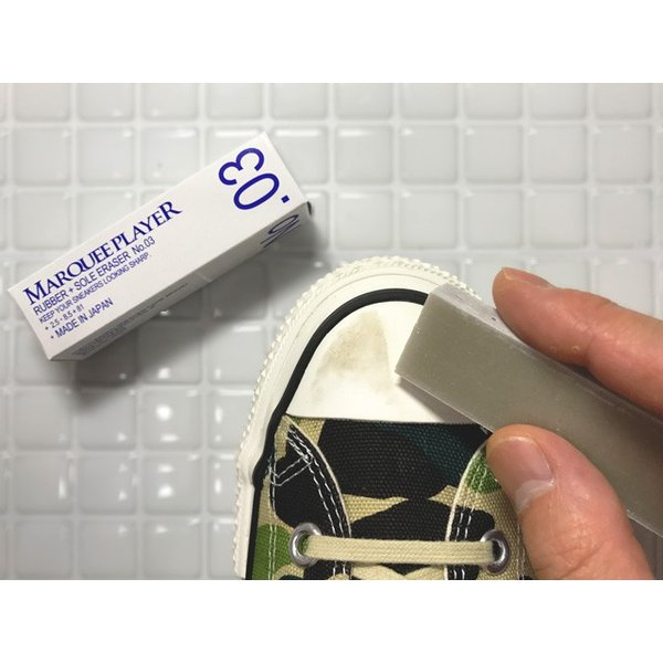 MARQUEE PLAYER RUBBER+SOLE ERASER No.03 マーキープレイヤー ラバーソールイレイザー 消しゴム|passover|03