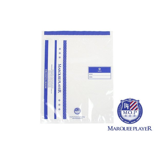 MARQUEE PLAYER SNEAKER PACK DRESSING ROOM  マーキープレイヤー スニーカーパック ドレッシングルーム 保存袋 320mmx380mm 5枚セット|passover