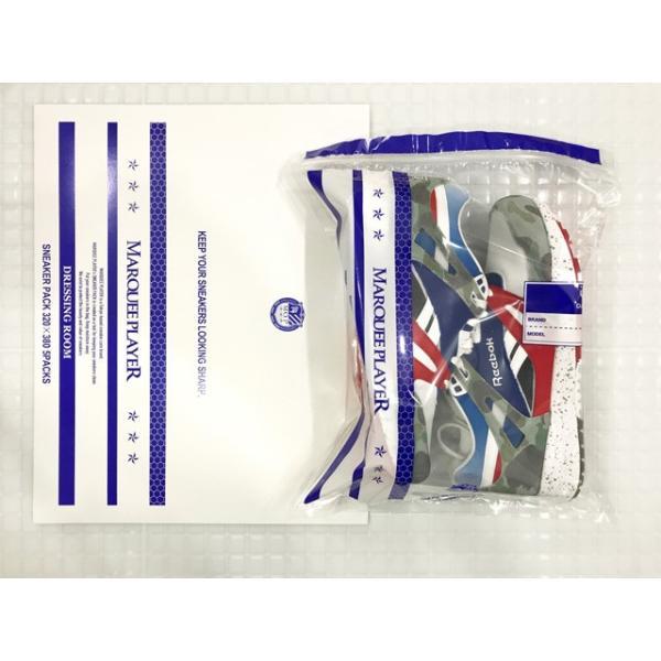 MARQUEE PLAYER SNEAKER PACK DRESSING ROOM  マーキープレイヤー スニーカーパック ドレッシングルーム 保存袋 320mmx380mm 5枚セット|passover|04