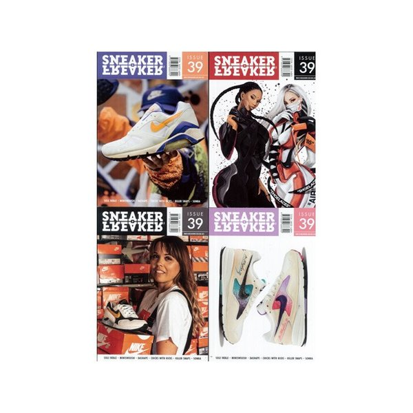 メール便対応 SNEAKER FREAKER ISSUE 39 スニーカー フリーカー 39号|passover