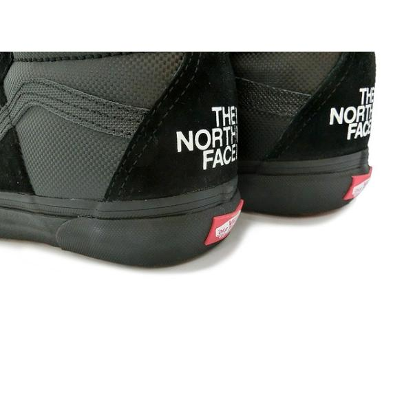 VANS x THE NORTH FACE SK8 HI MTE DX BLACK/BLACK バンズ ノースフェイス スケート ハイ マウンテンエディション ブラック ブラック VN0A3DQ5QWR|passover|03