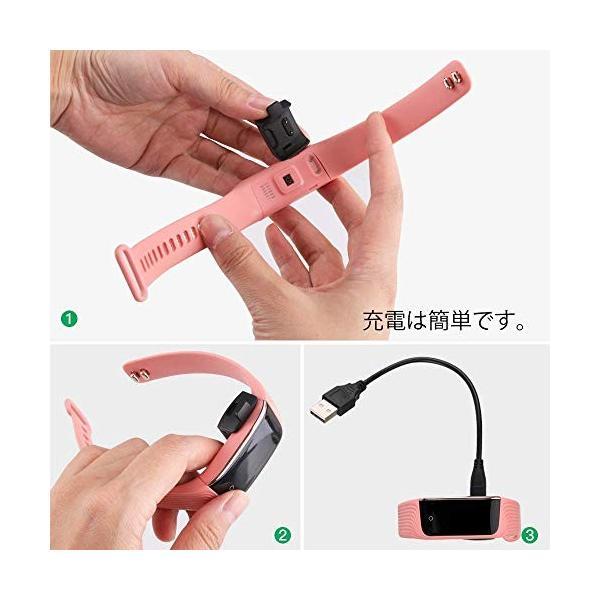 Hommie スマートウォッチ カラースクリーン 血圧計 心拍計 歩数計 スマートブレスレット IP68防水 多機能 消費カロリー