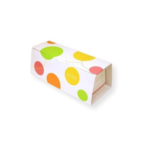 (ポイント5倍 7/19 20:00〜7/26 1:59)ロールケーキ ボックス (ロリポップ) 5枚入 菓子 箱 , ケーキ , ラッピング , テイクアウト ケーキ PA18-5