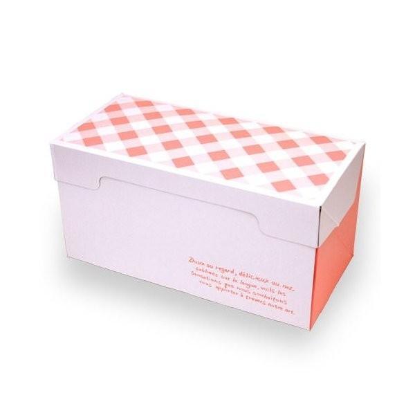(ポイント5倍 7/19 20:00〜7/26 1:59)ロールケーキ ボックス (フレーズ) 5枚入 菓子 箱 , ケーキ , ラッピング , テイクアウト ケーキ PA20-5