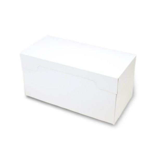 (ポイント5倍 7/19 20:00〜7/26 1:59)ロールケーキ ボックス (白) 5枚入 菓子 箱 , ケーキ , ラッピング , テイクアウト ケーキ PA21-5