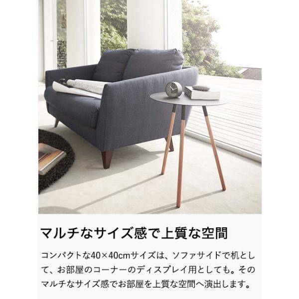 PLAIN サイドテーブル / プレーン 丸型 北欧家具  リビング 寝室 ソファ横 机|patie|05