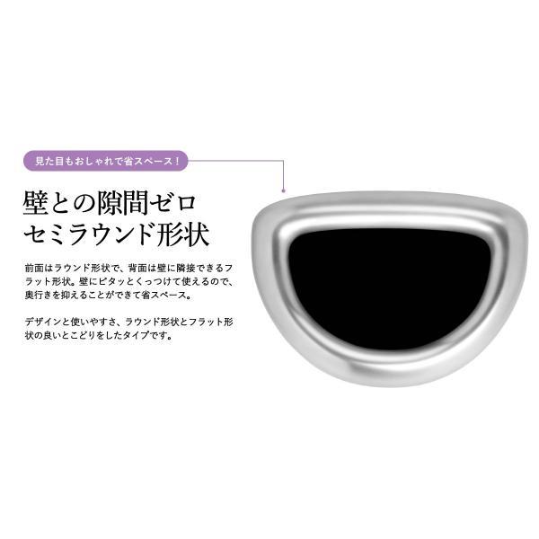 simplehuman シンプルヒューマン  セミラウンドオープンカン 60L (正規品)(メーカー直送)(送料無料)/ ゴミ箱 ダストボックス おしゃれ*CW1468*|patie|04