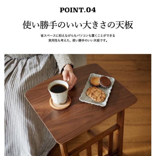 サイドテーブル トムテ TOMTE ナイトテーブル ソファ横テーブル ベッドサイド 天然木 北欧 シンプル おしゃれ 送料無料 木製|patie|09