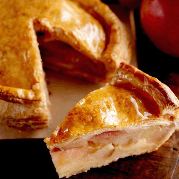 オリジナルアップルパイ 一つ一つ手作り で焼き上げ後 美味しさを閉じ込めて そのままお届け 【直径約15cm】|patisserie-monterosa