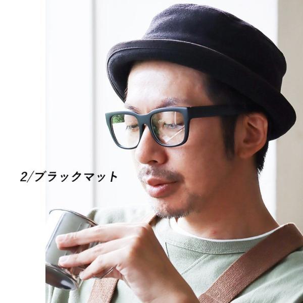 メガネ ファッショングラス 伊達メガネ ウェリントンタイプ ビッグフレーム  レディース メンズ|paty|05