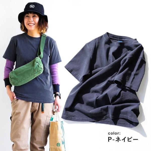 (グッドオン) GOOD ON 半袖 クルーネック カットソー 顔料染め MADE IN USA Tシャツ 無地|paty|03