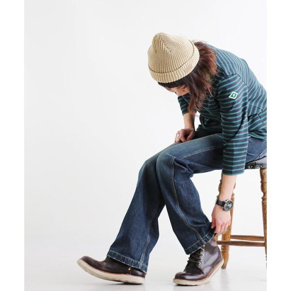 カットソー バスクシャツ 七分袖 コットン カットソー ボーダー ボートネック 日本製 レディース おしゃれ かわいい レディース paty 04