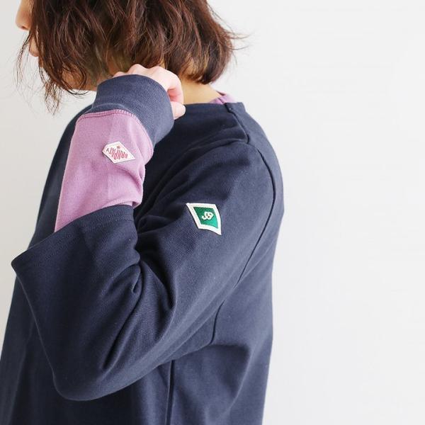 7分袖 カットソー  綿100% バスクシャツ ボートネック 日本製 コットン 無地  レディース SAIL|paty|05