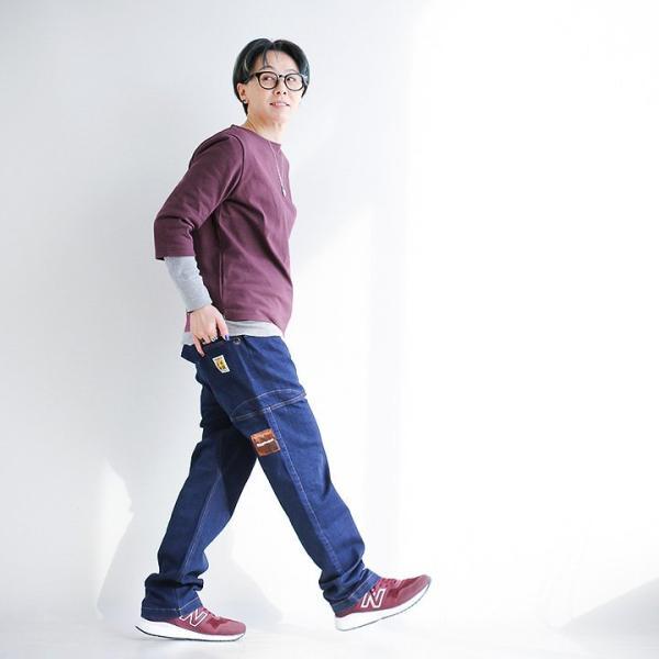 7分袖 カットソー  綿100% バスクシャツ ボートネック 日本製 コットン 無地  レディース SAIL|paty|08