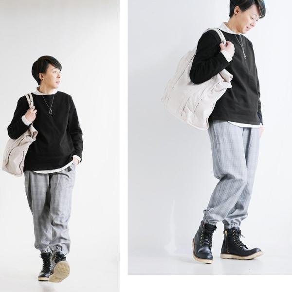 【予約販売】長袖 カットソー バスクシャツ コットン 無地 ボートネック 日本製 (セイル) SAIL 春 夏 秋 冬 40代 50代 paty 06