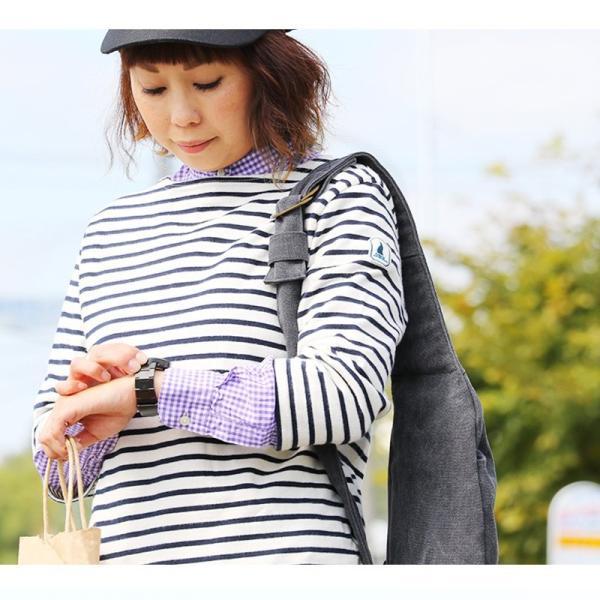 シャツ 日本製 長袖  バンドカラー ギンガムチェック柄 フェイク プルオーバー  ギンガムチェックシャツ paty 08