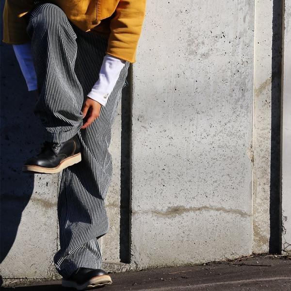 ジーンズ パンツ ストレート スレンダー ルーズストレート ヒッコリー (ジョンブル) Johnbull 春 夏  レディース|paty|02
