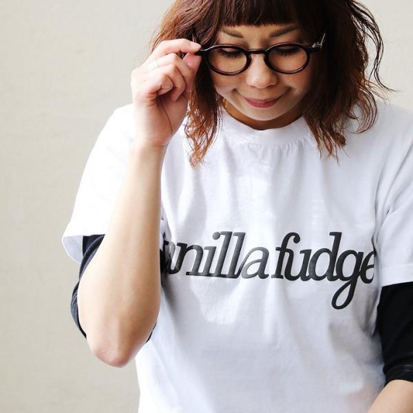 Tシャツ 半袖 クルーネック レディース ロゴプリント ボックスシルエット ユースサイズ Tee ヨレにくい  半袖シャツ  Vanilla fudge 夏 おしゃれ|paty|04