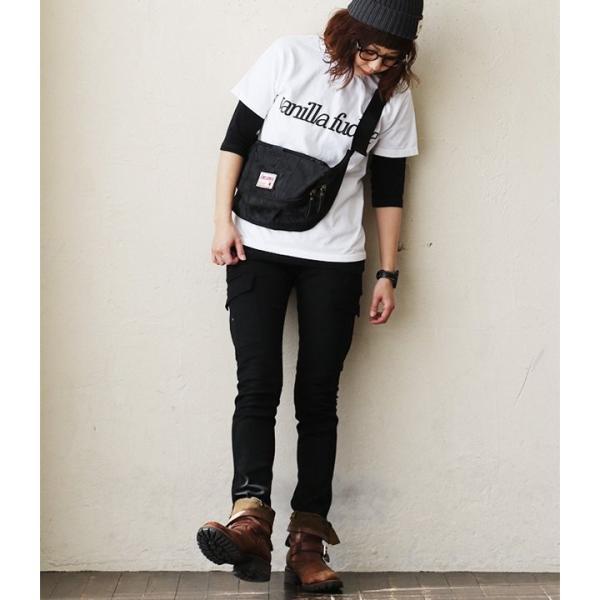 Tシャツ 半袖 クルーネック レディース ロゴプリント ボックスシルエット ユースサイズ Tee ヨレにくい  半袖シャツ  Vanilla fudge 夏 おしゃれ|paty|05