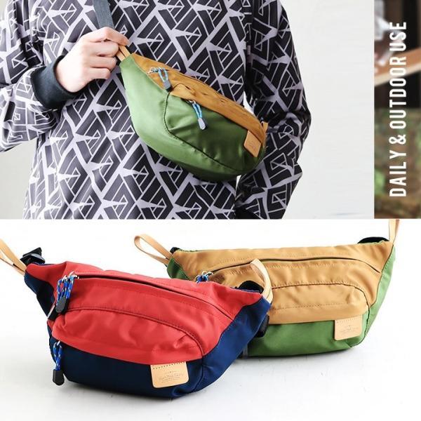 ショルダーバッグ バッグ 鞄 かばん ポリエステル キャンバス 2トーン アウトドア 通学 通勤 レディース メンズ