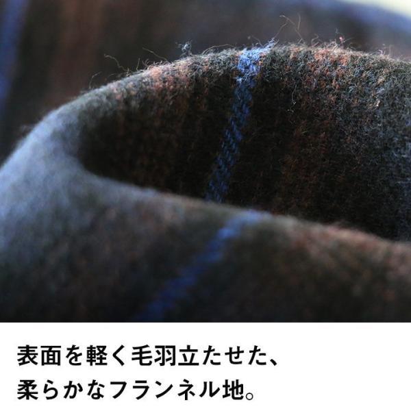 【A-暖か裏付】長袖シャツ ネルシャツ チェックシャツ シャツ  総裏地 フリース ボア フランネル チェック メンズ レディース 40代 50代 paty 13