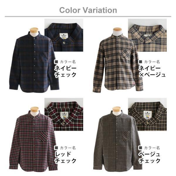 【A-暖か裏付】長袖シャツ ネルシャツ チェックシャツ シャツ  総裏地 フリース ボア フランネル チェック メンズ レディース 40代 50代 paty 19