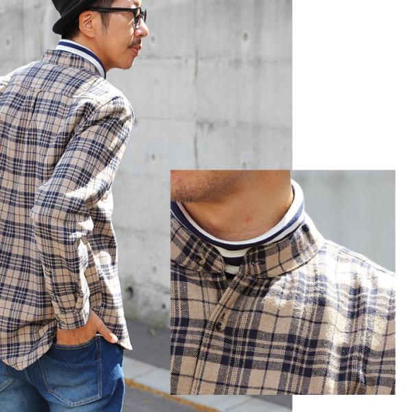 【A-暖か裏付】長袖シャツ ネルシャツ チェックシャツ シャツ  総裏地 フリース ボア フランネル チェック メンズ レディース 40代 50代 paty 06