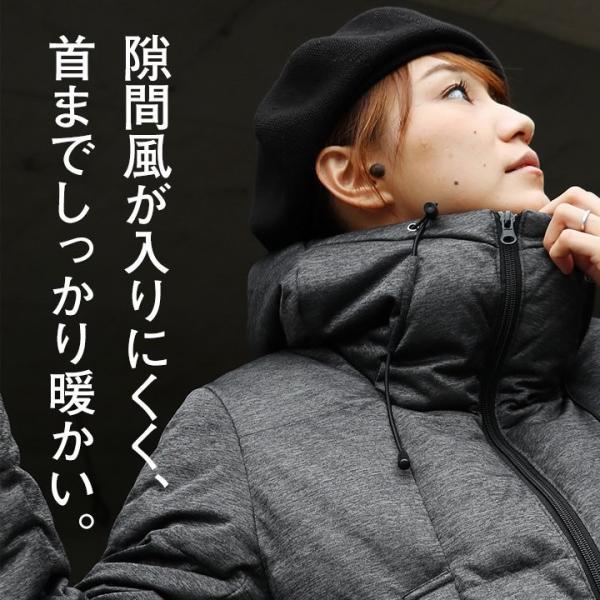 ダウンジャケット メンズ  メンズダウンジャケット メンズ ボリュームネック フード付き 冬 軽量 保温|paty|18